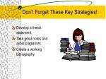 don t forget these key strategies