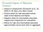 economic impact of migration evidence2