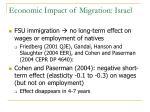economic impact of migration israel1