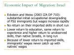 economic impact of migration israel3