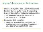 migrant s labor market performance1