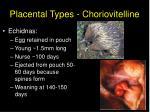 placental types choriovitelline8