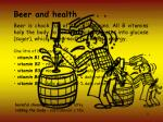 beer and health