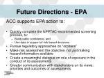 future directions epa