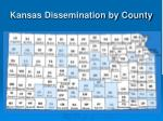 kansas dissemination by county