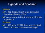 uganda and scotland
