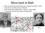move back to bath