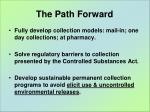 the path forward1
