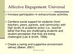 affective engagement universal1