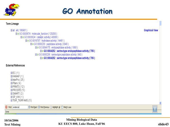 GO Annotation
