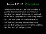james 3 13 18 conclusions6