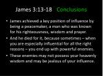 james 3 13 18 conclusions8