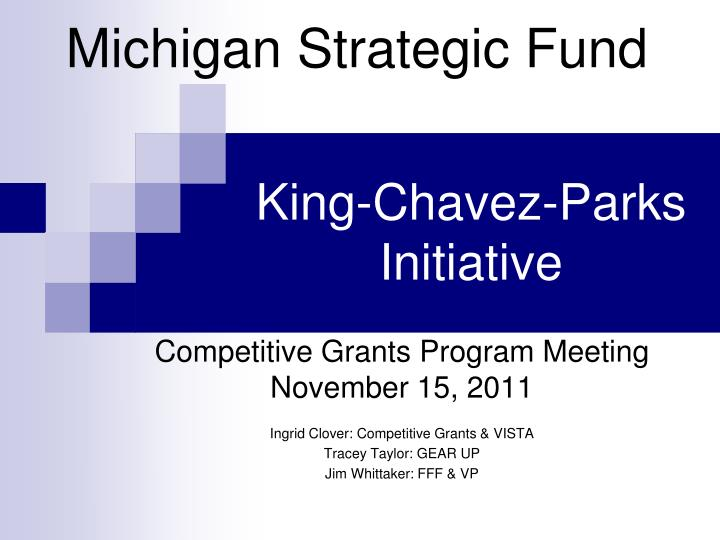 king chavez parks initiative n.