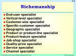 nichemanship
