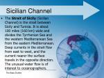 sicilian channel1