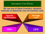 inventory cost flows