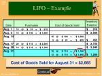 lifo example2