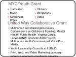myc youth grant
