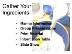 gather your ingredients1