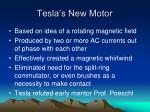 tesla s new motor