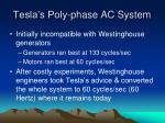 tesla s poly phase ac system