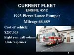 current fleet engine 4512