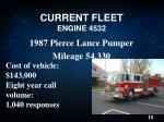 current fleet engine 4532