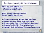 beespace analysis environment