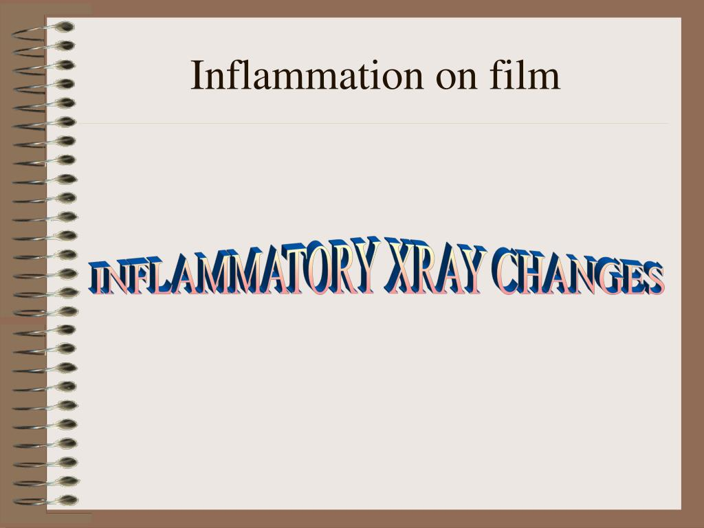 Inflammation on film
