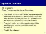 legislative overview3