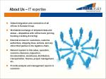 about us it expertise