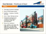 core services warehouse depot1