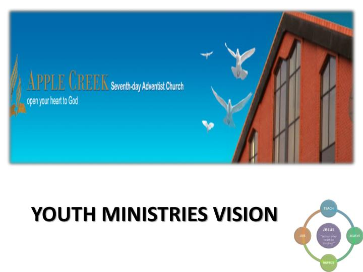 youth ministries vision n.