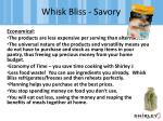 whisk bliss savory3