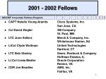 2001 2002 fellows
