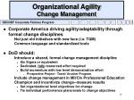organizational agility change management
