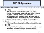 sdcfp sponsors