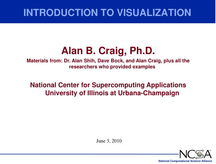 introduction to visualization n.