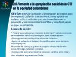 3 5 fomento a la apropiaci n social de la cti en la sociedad colombiana