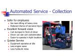 automated service collection