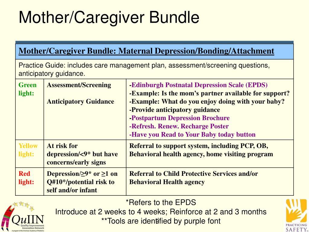 Mother/Caregiver Bundle
