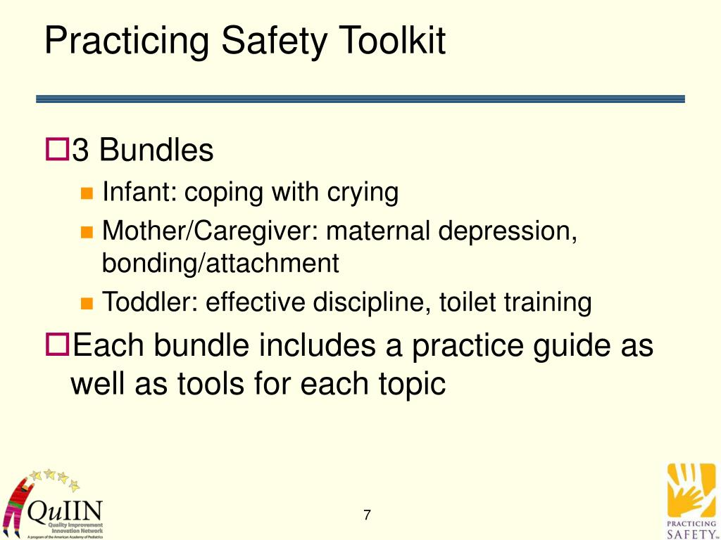 Practicing Safety Toolkit