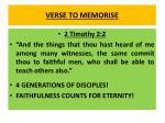 verse to memorise