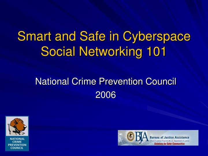 smart and safe in cyberspace social networking 101 n.