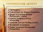 contests for artists