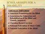 scholarships for a disability1