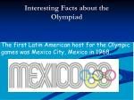 interesting facts about the olympiad2