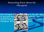 interesting facts about the olympiad6