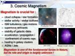 3 cosmic magnetism