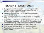 skamp 3 2006 2007